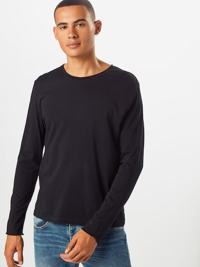 Filippa K T-Shirt 'M. Roll' en noir: Vue de face