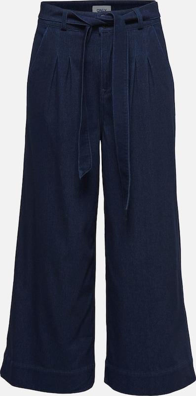 ONLY Weite Kurze Jeans in blau  Markenkleidung für Männer und Frauen