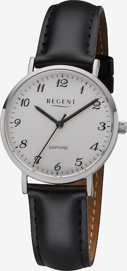 REGENT Uhr '12111199' in schwarz / silber / weiß, Produktansicht