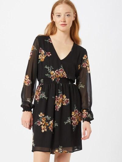 VERO MODA Kleid in mischfarben / schwarz, Modelansicht