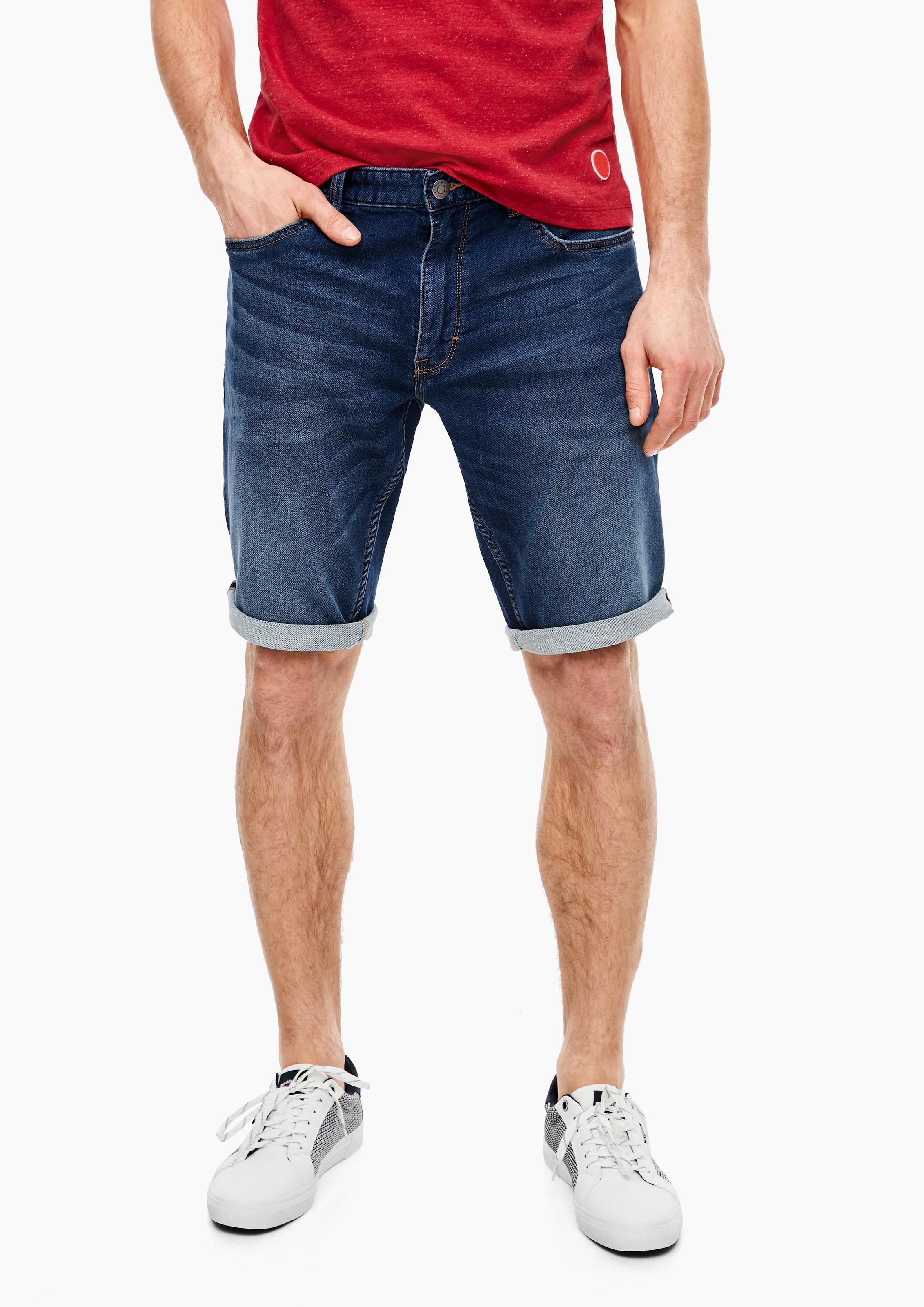 s.Oliver Shorts in blue denim Jeans 03.899.72.6202.58Z4.29