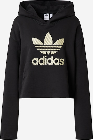 ADIDAS ORIGINALS Sweatshirt in gold / schwarz, Produktansicht