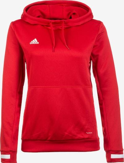 ADIDAS PERFORMANCE Sweatshirt 'Team 19' in rot / weiß, Produktansicht