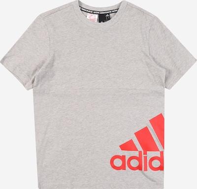 ADIDAS PERFORMANCE Funkčné tričko - sivá melírovaná / grenadínová, Produkt