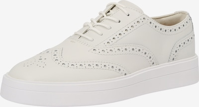 CLARKS Chaussure à lacets 'Hero Brogue' en blanc, Vue avec produit