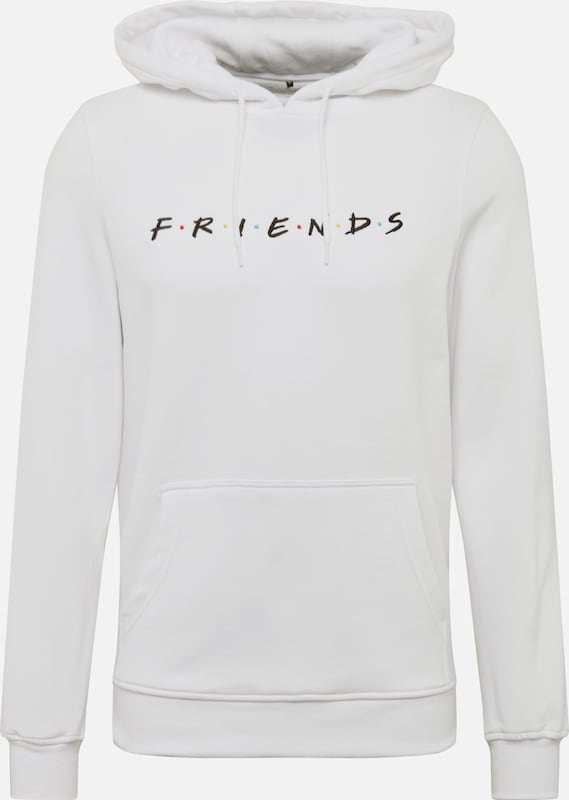 Mister Tee Sweatshirt 'Friends' in de kleur Wit, Productweergave