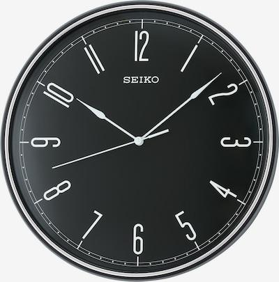 SEIKO Wanduhr 'QXA755K' in schwarz / weiß, Produktansicht