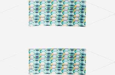 Mască de stofă '2er Pack Retro' Zwillingsherz pe culori mixte, Vizualizare produs