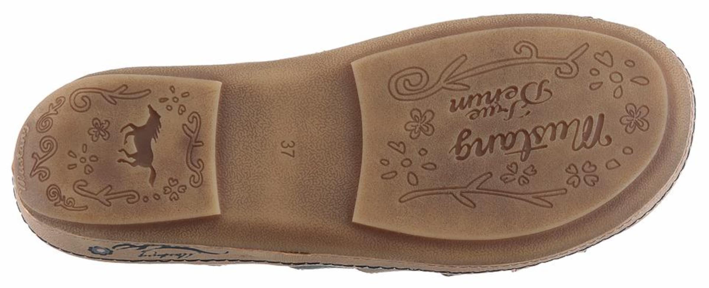 Vorbestellung Günstiger Preis Kaufladen MUSTANG Pantolette Limitierter Auflage Zum Verkauf B30ws