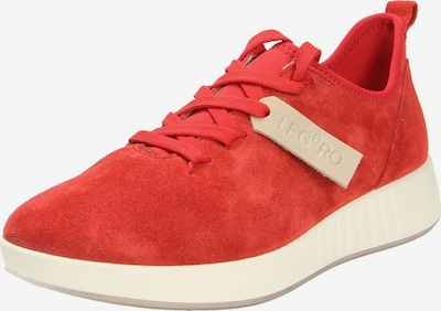 Legero Sneakers in rot: Frontalansicht