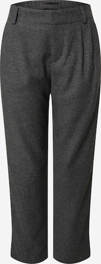 DRYKORN Hose in grau / schwarz: Frontalansicht