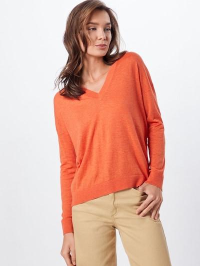 UNITED COLORS OF BENETTON Pullover in orange, Modelansicht