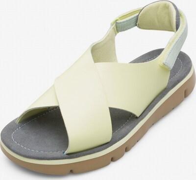 CAMPER Sandalen ' Oruga ' in neongelb, Produktansicht