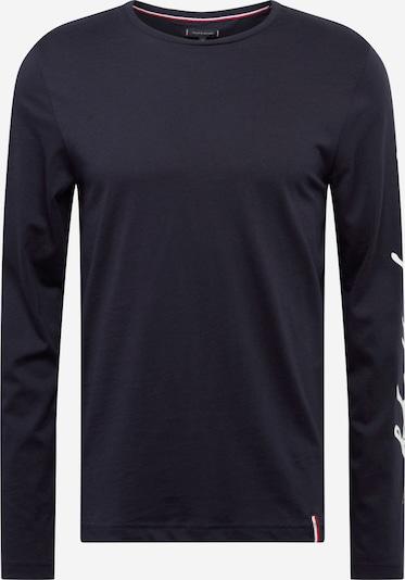 TOMMY HILFIGER Shirt 'Signature' in dunkelblau / weiß, Produktansicht
