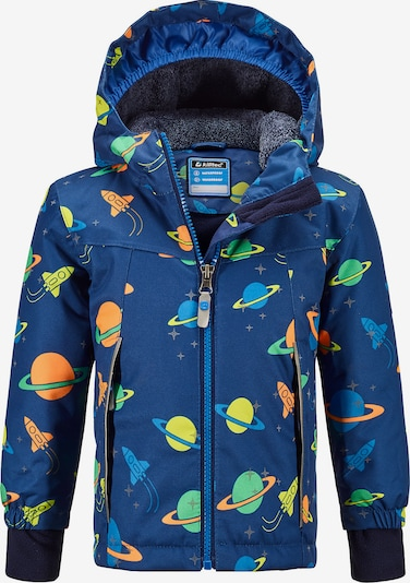 KILLTEC Outdoorjacke 'Twinkly' in blau / mischfarben, Produktansicht