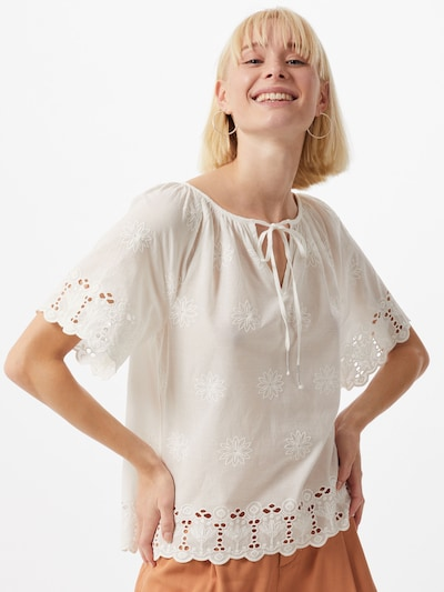 ONLY Bluse 'GINNY' in offwhite: Frontalansicht