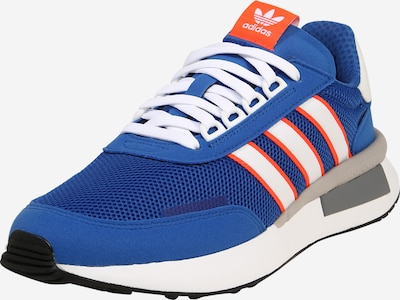 ADIDAS ORIGINALS Sneaker 'RETROSET' in blau / orange / weiß, Produktansicht