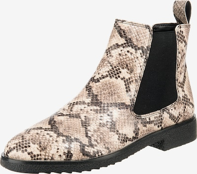 CLARKS Chelsea Boots 'Griffin Plaza' in beige / braun / schwarz, Produktansicht