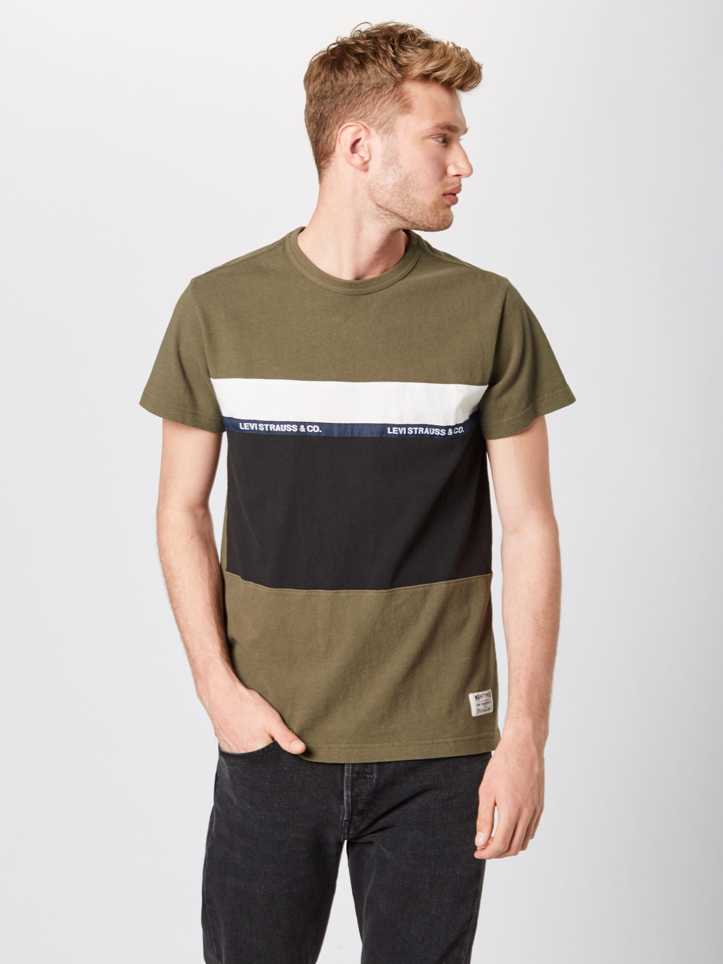 'ssmightypiecedteetapeapplique' Levi's In Oliv In Oliv Levi's Shirt 'ssmightypiecedteetapeapplique' Shirt nw80kOPX