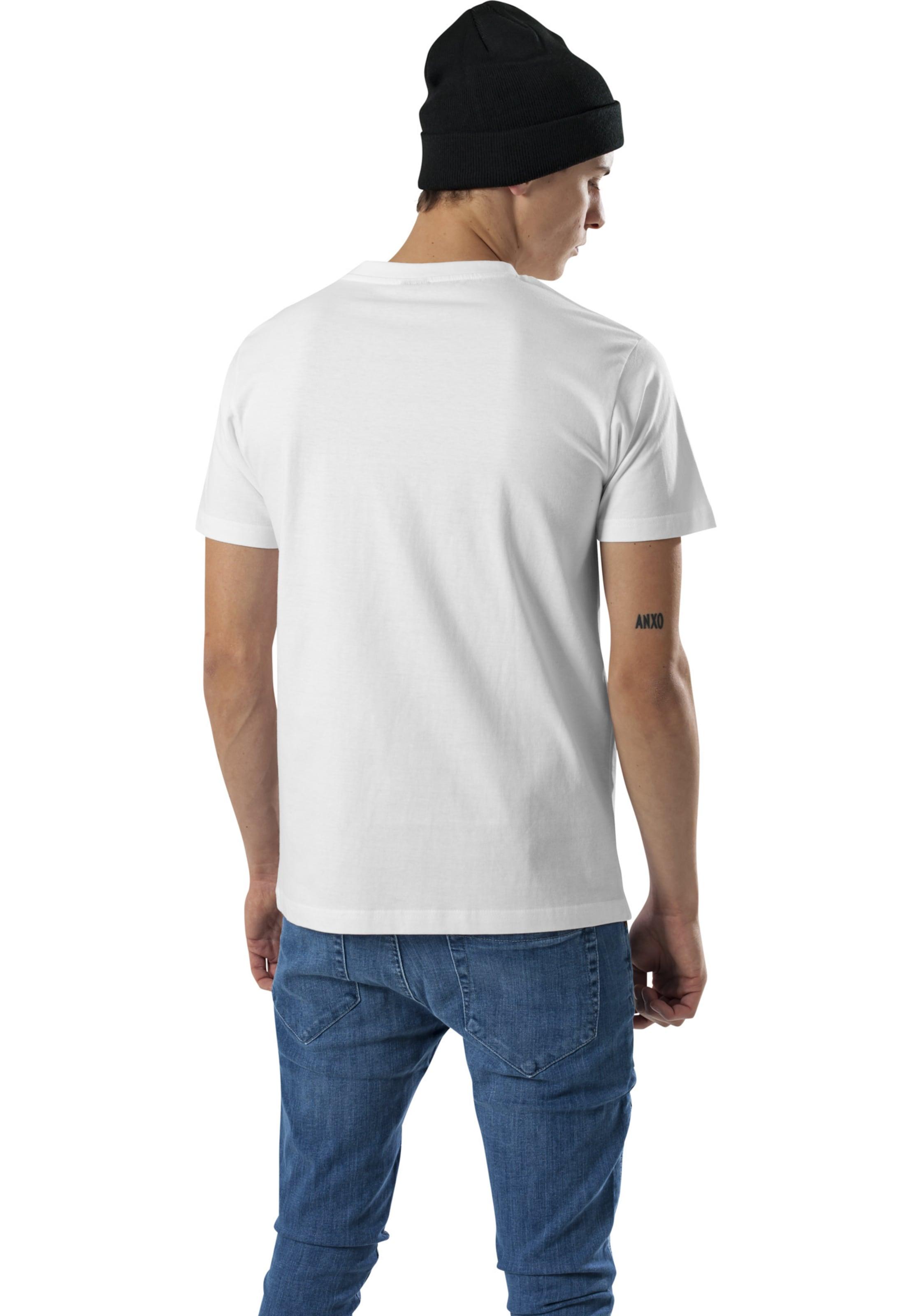 Tee 'easy Box' Shirt RotWeiß In Mister wO80XknPN