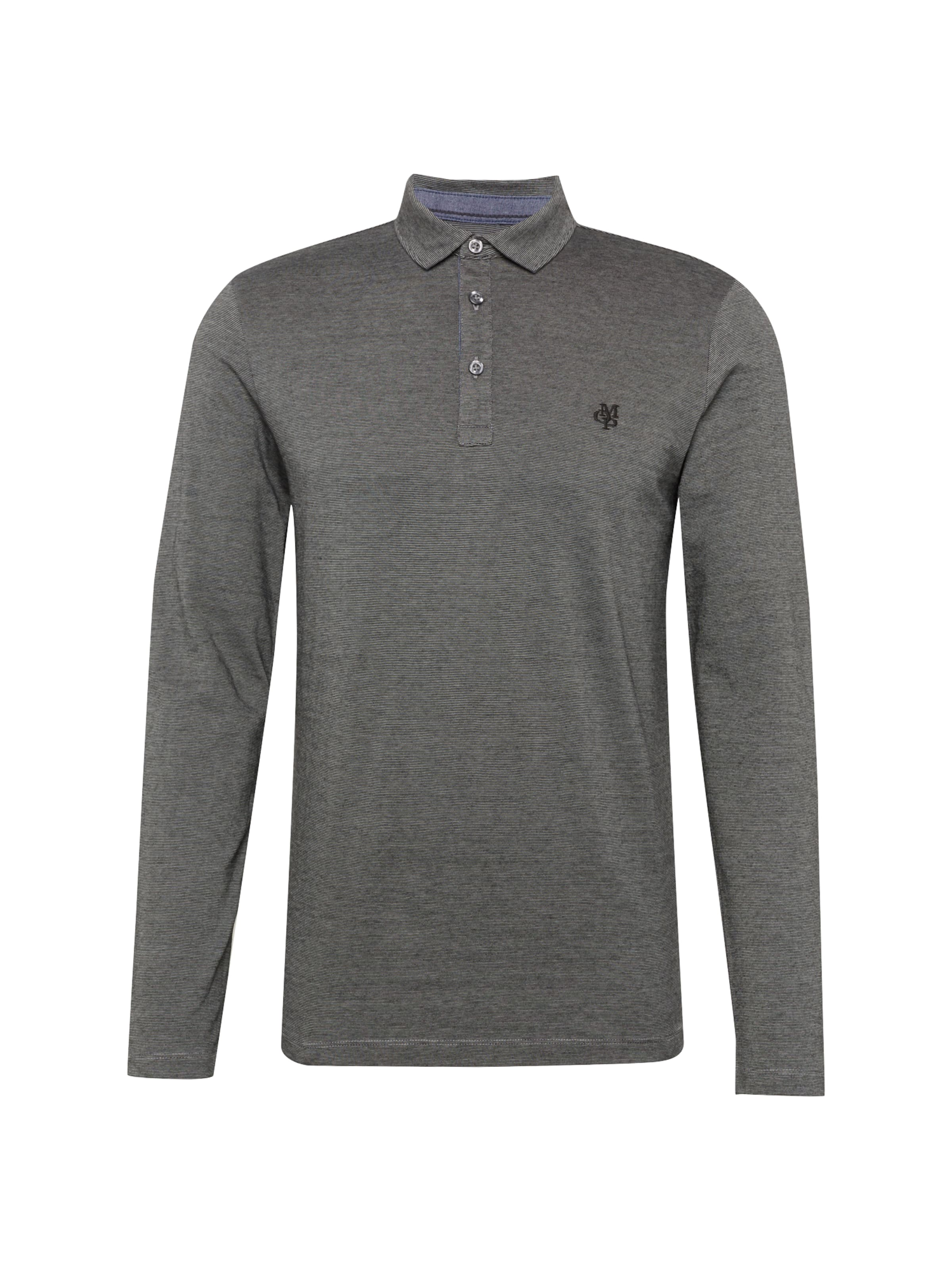 Graumeliert In O'polo Shirt Marc Marc Shirt O'polo 8knP0Ow