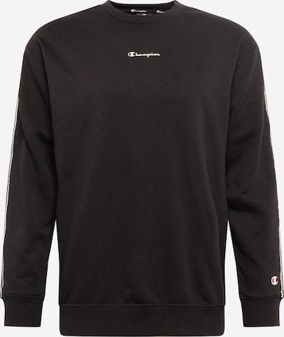 Champion Authentic Athletic Apparel Sweat-shirt en noir / blanc, Vue avec produit