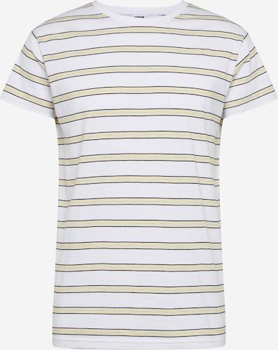 Urban Classics Shirt in gelb / schwarz / weiß, Produktansicht