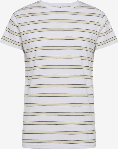 Urban Classics T-Shirt 'Multicolor Stripe Tee' en jaune / noir / blanc, Vue avec produit