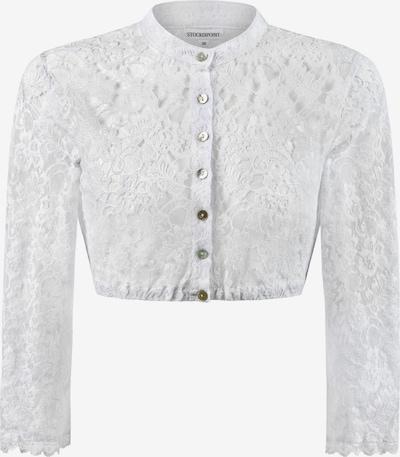 STOCKERPOINT Bluse 'B-5070' in weiß, Produktansicht