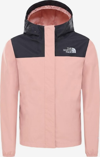 THE NORTH FACE Funktionsjacke 'Resolve' in rosa / schwarz, Produktansicht