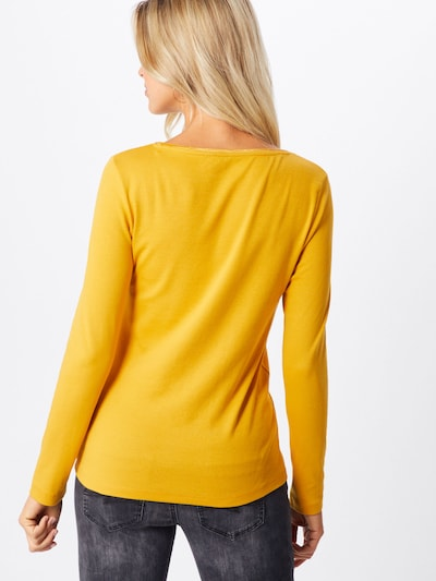 Marškinėliai iš TOM TAILOR , spalva - aukso geltonumo spalva: Vaizdas iš galinės pusės