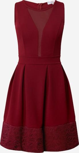 WAL G. Šaty - vínově červená: Pohled zepředu