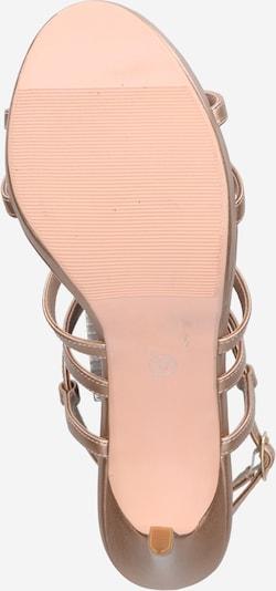 ABOUT YOU Sandalette 'Mia' in rosé: Ansicht von unten