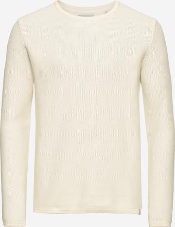 minimum Sweter 'reiswood 2.0' w kolorze beżowy