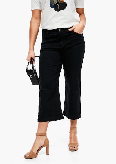 TRIANGLE Jeans in schwarz: Frontalansicht