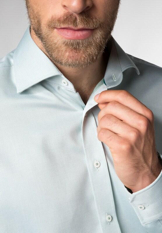 Eterna Long Sleeve Shirt Modern Fit