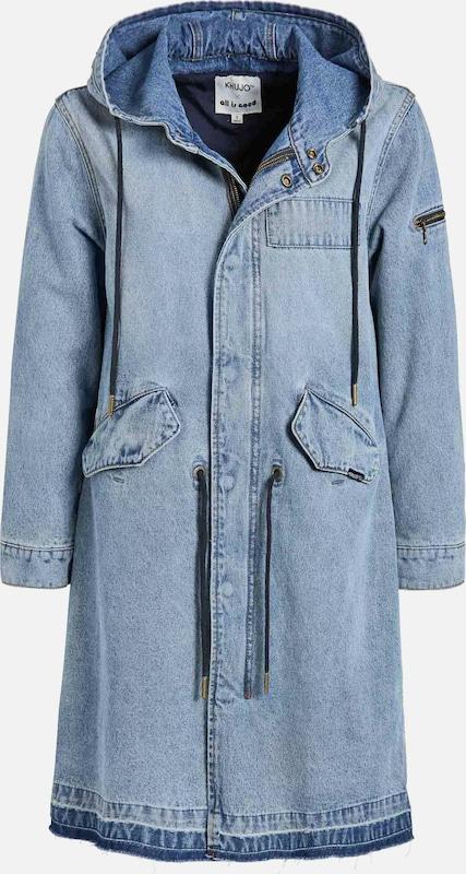 Khujo Mantel 'Miranda' in Blau denim  Mode neue Kleidung Kleidung Kleidung a91b98