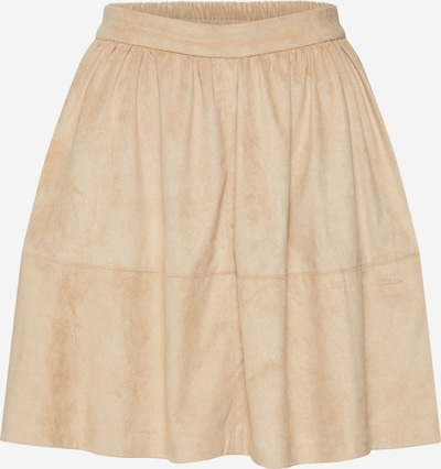 VILA Rock 'VICHOOSE HW SKIRT/KI' in beige, Produktansicht