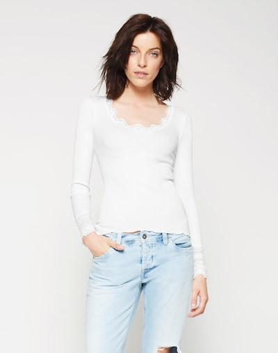 rosemunde Shirt in White: Frontal view