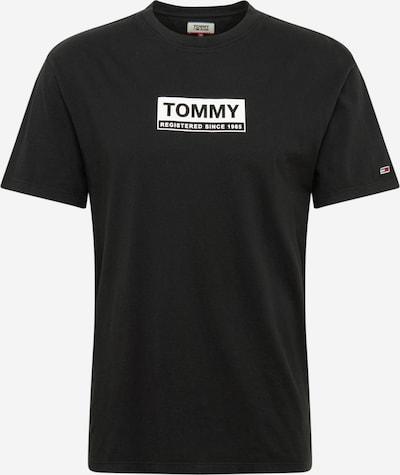 Tommy Jeans T-Shirt in schwarz / weiß, Produktansicht