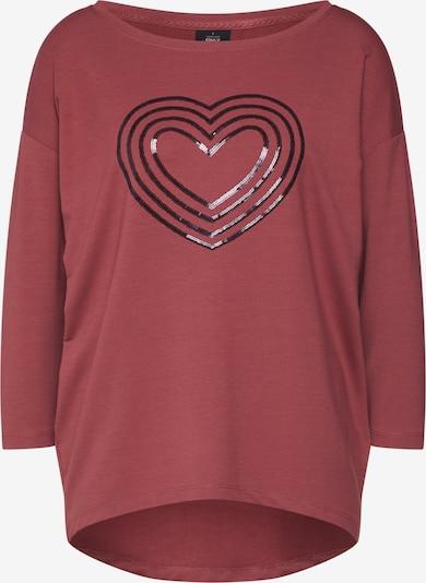 ONLY Bluzka sportowa 'JANA' w kolorze rdzawoczerwonym: Widok z przodu