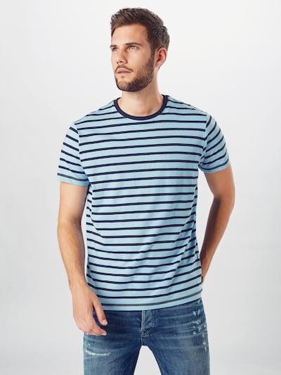 ESPRIT Koszulka w kolorze atramentowy / podpalany niebieskim: Widok z przodu