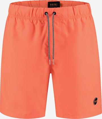 Shiwi Surfaripüksid 'Solid mike', värv oranž
