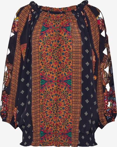 Desigual Blusenshirt 'INDIRA' in mischfarben / schwarz, Produktansicht