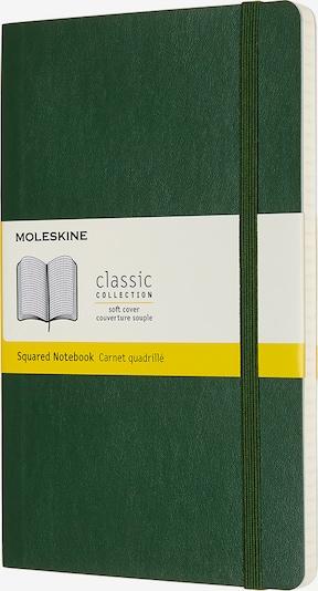 MOLESKINE Notizbücher L/A5- Kariert in grün, Produktansicht