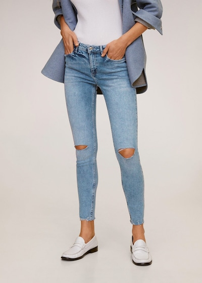 MANGO Jeans 'Kim' in hellblau, Modelansicht