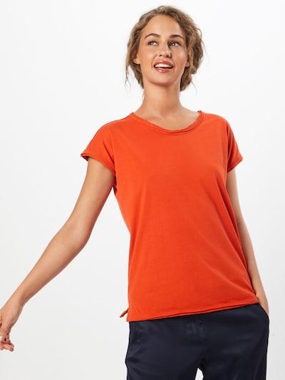 Urban Classics Shirt 'Pigment Dye Cut' in orange: Frontalansicht