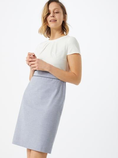 s.Oliver BLACK LABEL Kleid in hellblau / weiß, Modelansicht