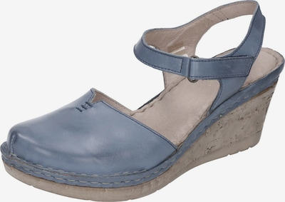 MANITU Sandale in blau, Produktansicht