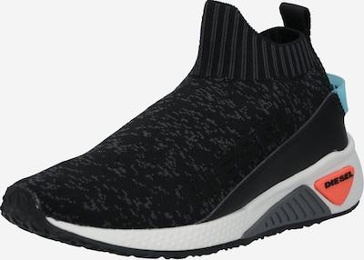 DIESEL Sneaker in grau / schwarz, Produktansicht